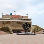 Odessa seaport building. The Black Sea, Ukraine — Stock Photo