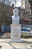 世界语的创建者 zamenhof 的雕像 — 图库照片