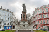 Monument to empress Catherine. Odessa, Ukraine — Stock Photo