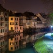 Canal in Petite France area, Strasbourg, Alsace - France — Stock Photo