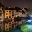 Canal in Petite France area, Strasbourg, Alsace - France — Stock Photo #19615849