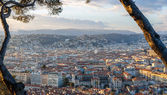 View of Nice city - Côte d'Azur - France — Foto de Stock