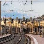 Nice-Ville station - France — Stock Photo