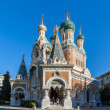 St Nicholas Russian Orthodox Cathedral, Nice - France — Stock Photo
