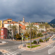View of Menton city - French Riviera, France — Stock Photo #22589637