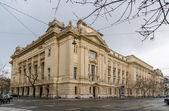 Ungarische nationale fernsehen-gebäude - budapest — Stockfoto