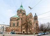 St. Lukas Church in Munich - Bavaria, Germany — Stock Photo
