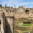 Ruined fortifications of Luxembourg city — Stock Photo