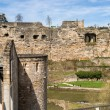 Stock Photo: Ruined fortifications of Luxembourg city