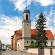 Stock Photo: Temple Protestant in Neuf-Brisach - Alsace, France