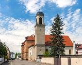 Temple Protestant in Neuf-Brisach - Alsace, France — Stock Photo