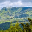 View of La Vancelle - a village in Vosges mountains, Alsace, Fra — Stock Photo