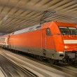 Stock Photo: Germtrain in Munich station - Bavaria