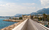 Le Bastion, Jean Cocteau museum - Menton, French Riviera — Stock Photo