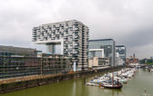 Kranhaus apartment and office buildings in Cologne - Germany — Stock Photo