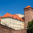 Wawel Royal Castle in Krakow - Poland — Stock Photo