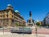 Battle of Grunwald monument in Krakow - Poland — Stock Photo