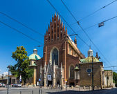 Dominican Basilica of the Holy Trinity in Krakow - Poland — Stock Photo