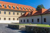 Court of Bratislava Castle - Slovakia — Stock Photo