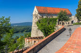 Walls of Bratislava Castle - Slovakia — Stock Photo