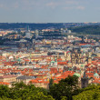 Foto Stock: View of Prague Old Town (Stare Mesto) - Czech Republic