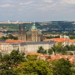 Stock Photo: View of Prague Castle (Prazsky hrad) - Czech republic