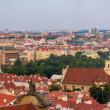 Panorama of Prague from Hradcany - Czech Republic — Stock Photo