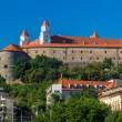 View of Bratistava Castle - Slovakia — Stock Photo