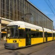 Stock Photo: Modern tram in Berlin - Alexanderplatz