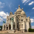 The Basilica of the Sacred Heart of Paris - France — Stock Photo