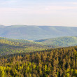Panorama of Vosges mountains in Alsace - France — Stock Photo