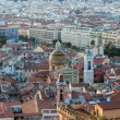 View of Nice city with the Cathedral - French Riviera — Stock Photo