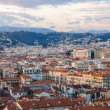 Panorama of Nice town - French Riviera — Stock Photo