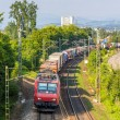 Swiss freight train in Germany — Stock Photo