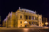 The Rudolfinum, a music auditorium in Prague, Czech Republic — Stock Photo