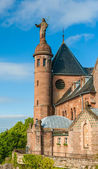 Monastery at Mont Sainte-Odile - Alsace, France — Stock Photo