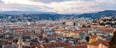 Panorama města nice - francouzská riviéra — Stock fotografie