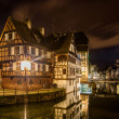 Alsatistyle houses in Petite France areof Strasbourg — Stock Photo #38978475