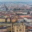 View of Lyon from Fourviere hill - France — Stock Photo #38978917