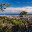 Stock Photo: Ascent to Tibidabo mountain on funicular - Barcelona, Spain
