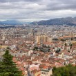 Panorama of Marseille from Notre-Dame de la Garde — Stock Photo