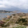 Panoramof Frioul archipelago in Mediterranesenear Marseil — Stock Photo #38979701