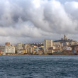 View of Marseille from Mediterranean Sea - France — Stock Photo
