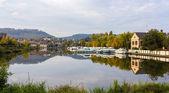 River port in Saverne, Alsase, France — Stock Photo