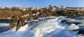 Rhine falls in Schaffhausen, Switzerland — Stock Photo
