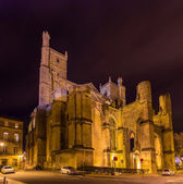 Cathedral of Saints Justus and Pastor of Narbonne - France — Stock Photo