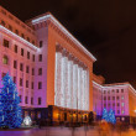 Residence of the President of Ukraine in Kiev — Stock Photo #49150421