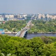 View of Left Bank of Dnieper in Kiev, Ukraine — Stock Photo #49151159