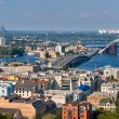 Panorama of Kiev with the Dnieper river - Ukraine — Stock Photo #49151679