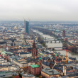 View of Frankfurt am Main - Hesse, Germany — Stock Photo #49152393